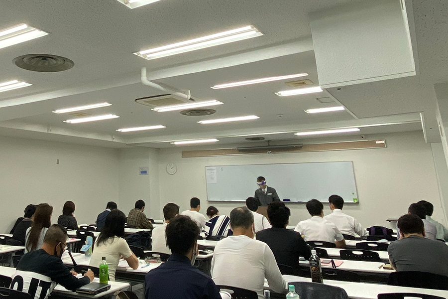 大阪市自然災害調査士講習